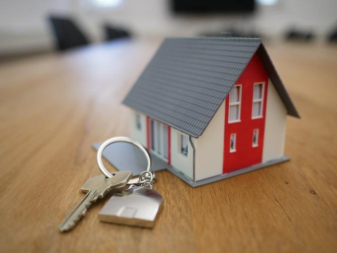 Hus med nyckel