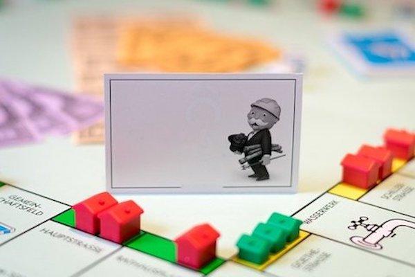Spelbräde till monopol