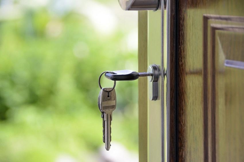 Nycklar i nyckelhål